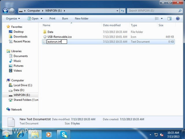 Cara Mengganti Icon Flashdisk Windows