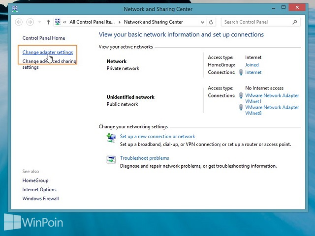 Cara Mengganti Nama Network Connection di Windows 8