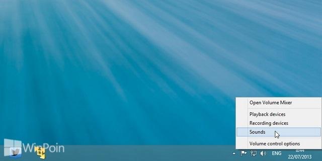 Cara Mengganti Sound Notifikasi Email Baru di Windows 8