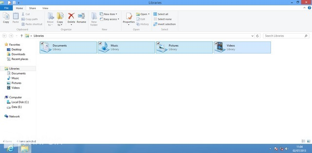 Cara Menghilangkan Check Box Select Item di Windows 8