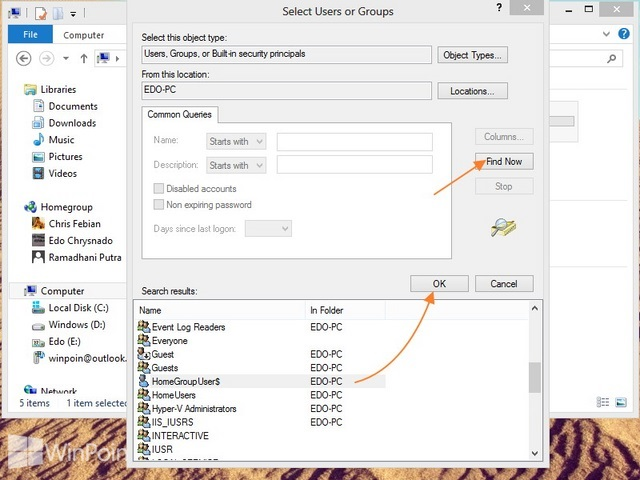 Cara Sharing File atau Folder Windows 8
