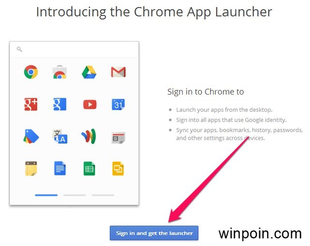 Chrome App Launcher untuk Windows Sudah Dirilis