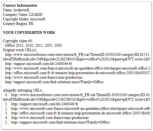 Whoops! Microsoft Meminta Google Memblokir Microsoft.com Karena Telah Melakukan Pembajakan