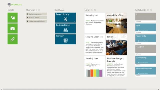 Aplikasi Evernote Modern UI Diupdate Dengan Tampilan Baru