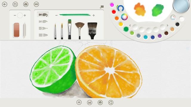 Microsoft Merilis Fresh Paint untuk Windows 8.1 Preview