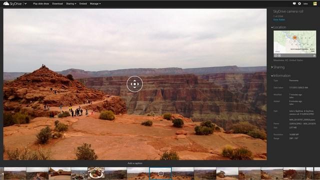 Panorama View di SkyDrive Bisa Dinikmati Melalui Windows 8.1