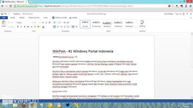 Sekarang Microsoft Word Online Bisa Membaca dan Mengconvert file PDF