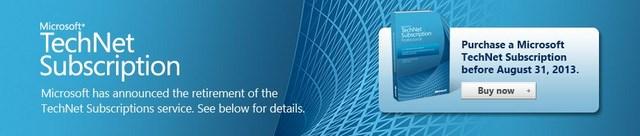 Ouch..Microsoft Menghentikan TechNet Subscriptions Mulai 31 Agustus Nanti..!
