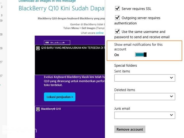 Tips Mengelola Email Dengan Menggunakan Windows 8