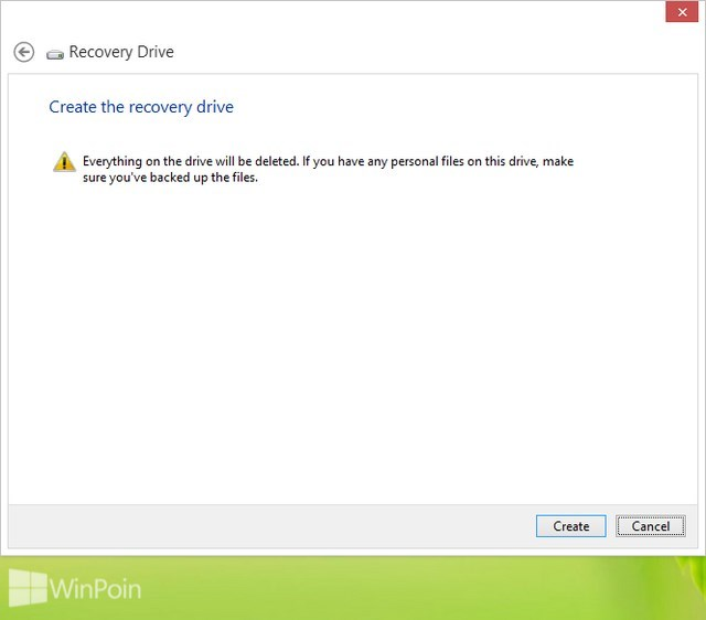 Cara Membuat USB Recovery Drive di Windows 8Cara Membuat USB Recovery Drive di Windows 8