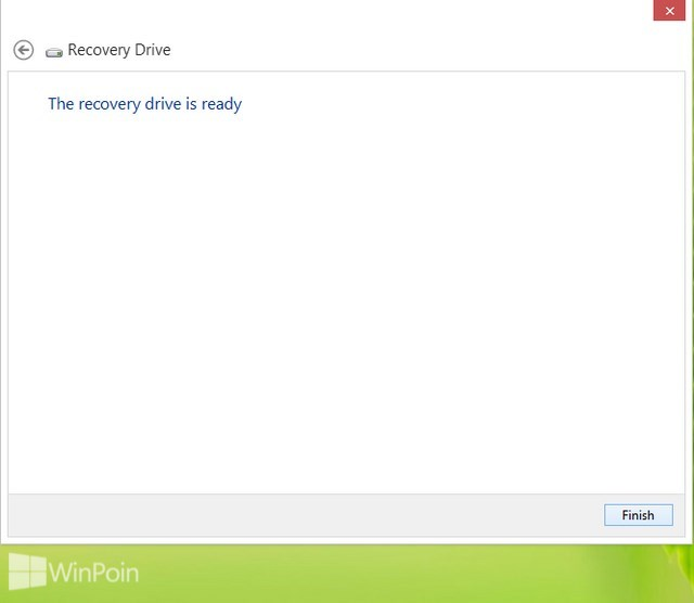 Cara Membuat USB Recovery Drive di Windows 8