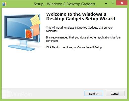 Cara Mengembalikan Desktop Gadget di Windows 8.1