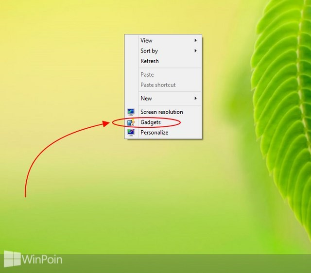 Cara Mengembalikan Desktop Gadget di Windows 8.1