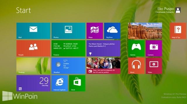 Windows 8.1 Preview Kini Bisa Diinstall di PC dengan Language Pack