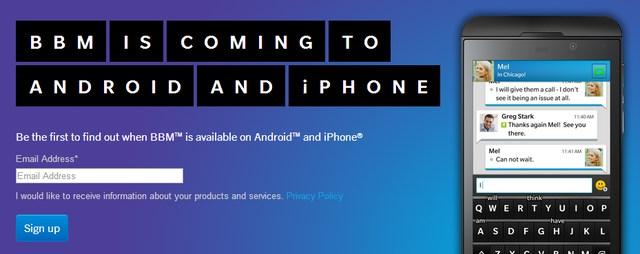BBM Segera Hadir di Android dan iOS, Tetapi Tidak di Windows Phone