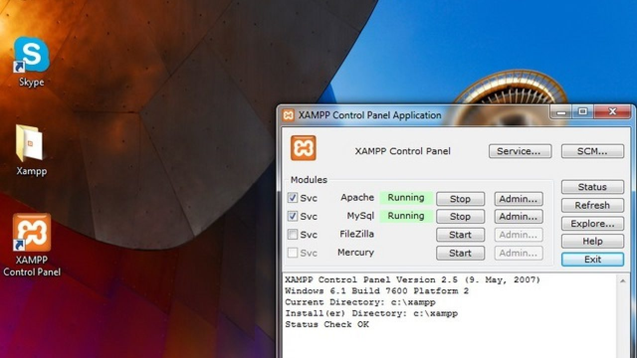 Cara Install Xampp Di Windows Winpoin