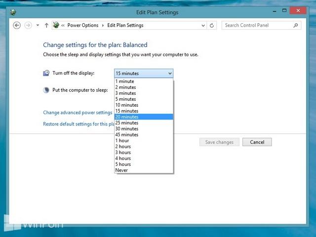 Cara Mematikan Layar Secara Otomatis di Windows