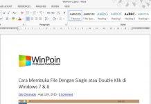 Cara Membuat Shortcut untuk Membuka Dokumen Terakhir Dibuat di Word 2013