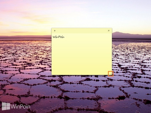 Cara Membuat dan Menghapus Sticky Note di Windows 8