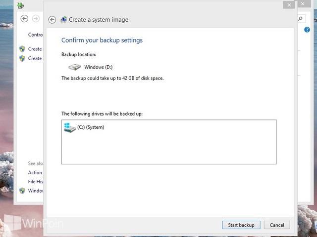 Cara Membuat System Image Windows 8