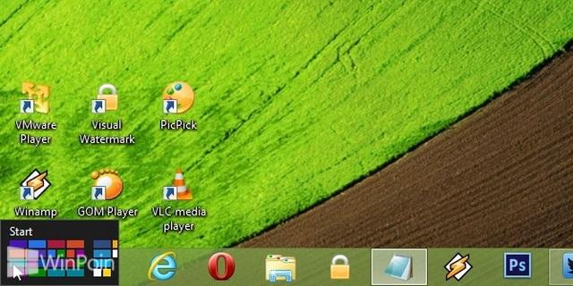 Cara Membuka Start Screen di Windows 8