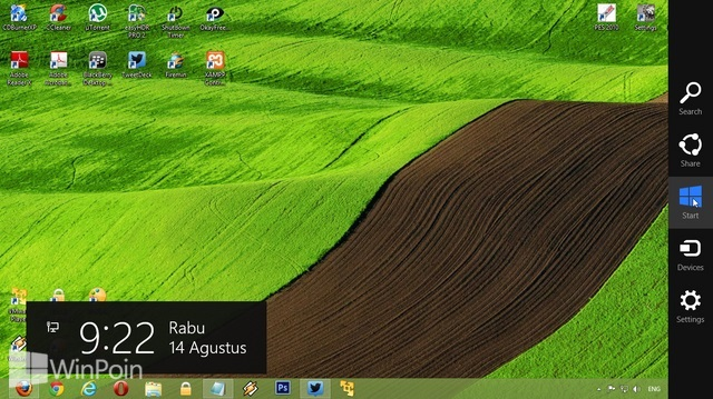 Cara Membuka Start Screen di Windows 8