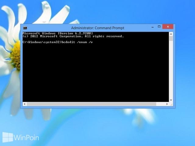 Cara Menambah Safe Mode di Windows Boot Manager Windows 8