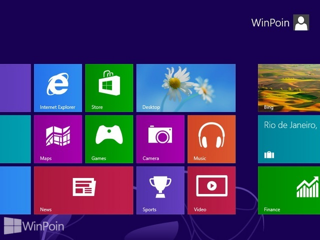 Cara Mengembalikan Desktop yang Hilang di Start Screen Windows 8