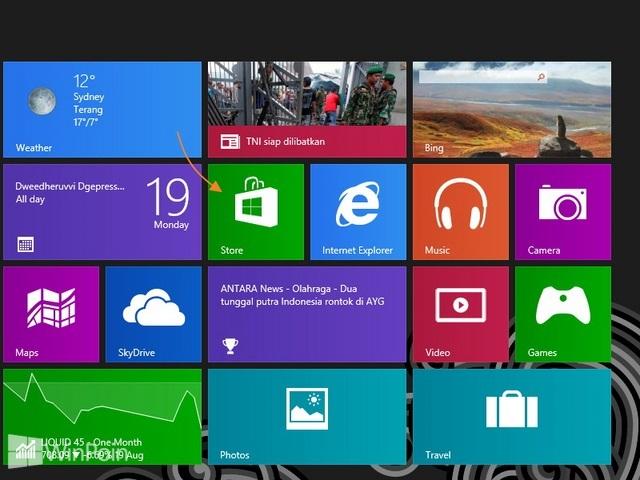 Cara Menghapus Nama PC dari Windows Store di Windows 8