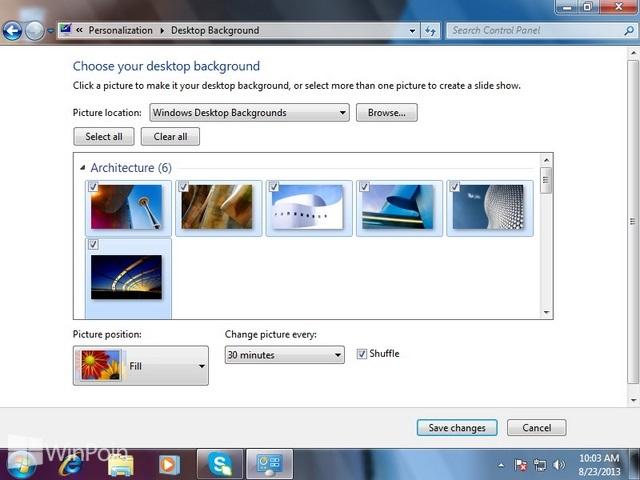 Cara Mudah Membuat Tema Windows 7 Sendiri