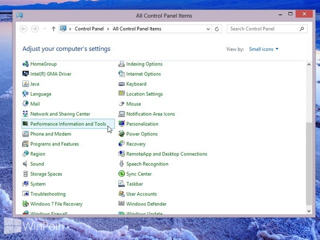 Cara Melakukan Reset Windows Experience Index