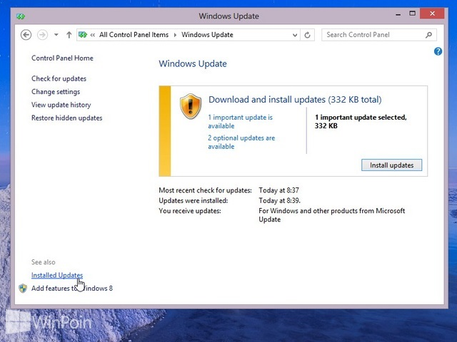 Cara Uninstall Windows Update di Windows 7 & 8