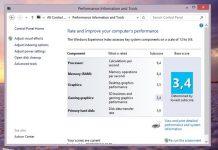 Cara Update atau Refresh Score Windows Experience Index di Windows 8