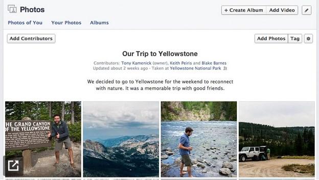 Beberapa User Facebook Kini Bisa Mengupload Foto di Album yang Sama