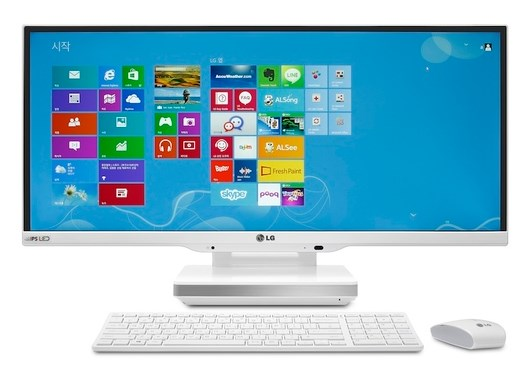 LG Merilis PC Windows 8 All-In-One yang Super Lebar
