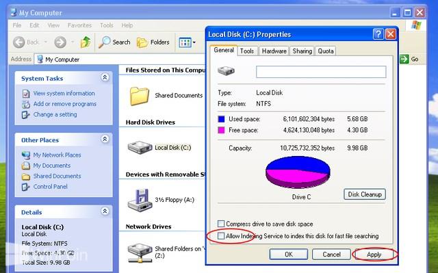 Cara Mempercepat Windows XP