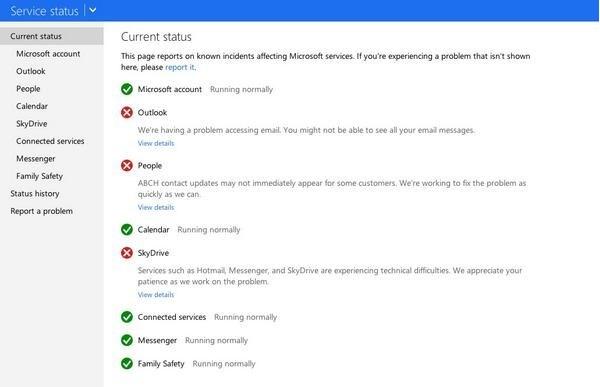 Outlook.com Mengalami Masalah, Microsoft Meminta Maaf