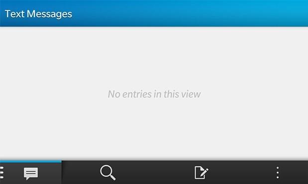 SMS di BlackBerry 10 Bermasalah Setelah Update 10.1 MR