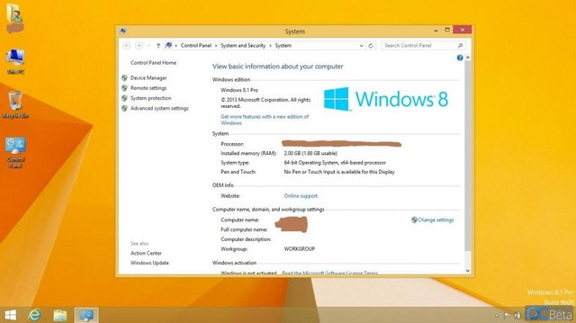 Windows 8.1 Pro RTM 64-Bit Bocor ke Publik!