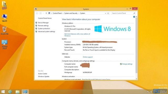 Windows 8.1 Pro RTM 64-Bit Bocor ke Publik!