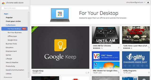 Chrome Kini Memiliki Aplikasi Offline untuk Dekstop