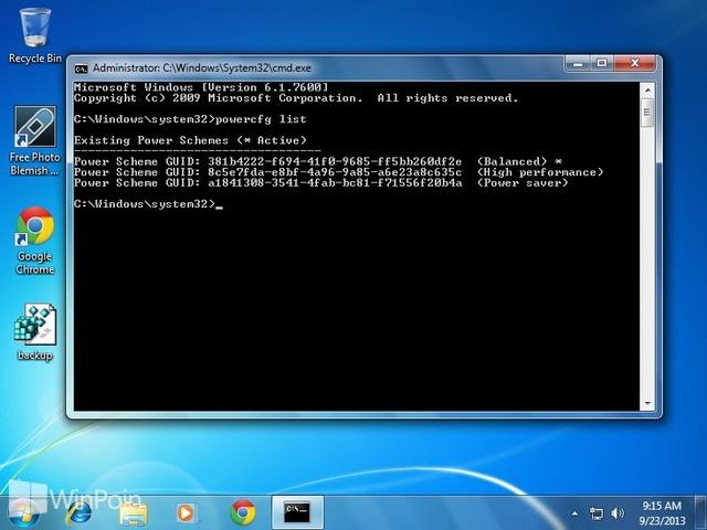 Cara Back Up Pengaturan Power Plan Windows 7 & 8