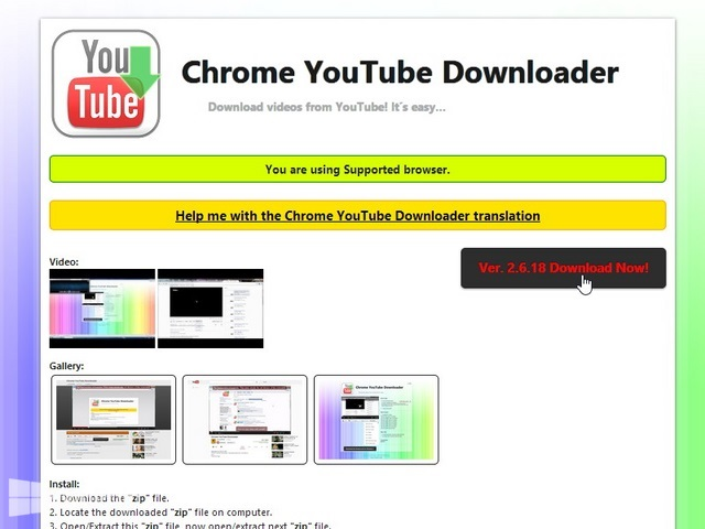 Cara Download YouTube di Google Chrome pada Windows