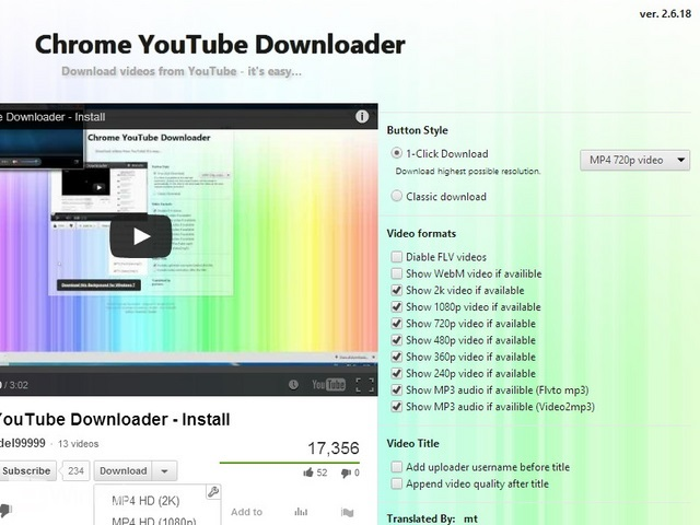 Cara Download YouTube di Google Chrome pada Windows