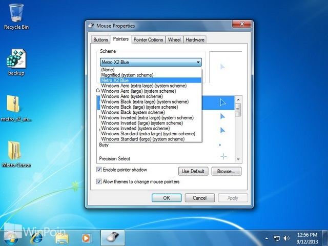 Cara Install Mouse Cursor di Windows 7