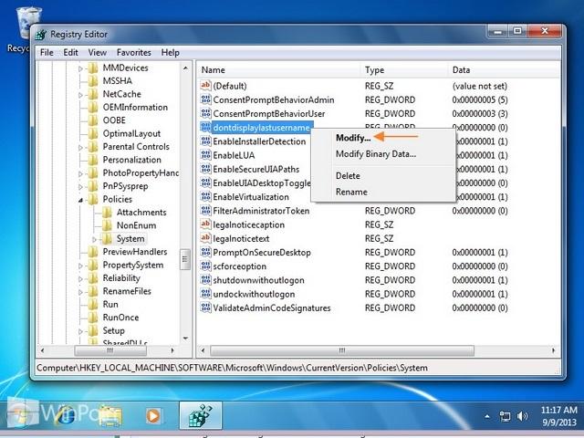 Cara Login Windows 7 Menggunakan Username dan Password