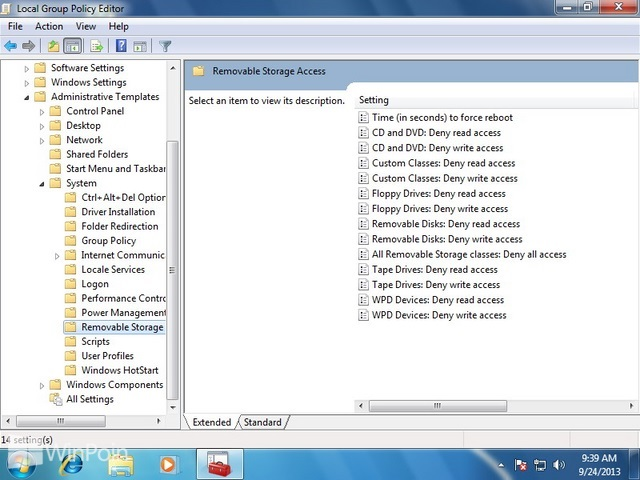 Cara Mematikan Izin Removable Drive di Windows 7