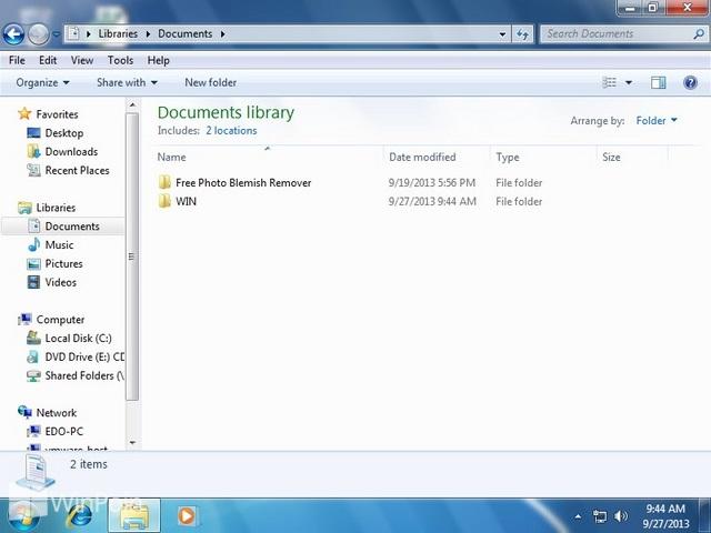 Cara Menempatkan Icon Taskbar di Tengah pada Windows 7