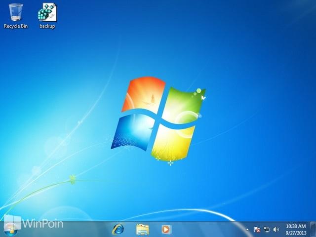 Cara Mengatur Besar Kecil Icon di Taskbar pada Windows 7