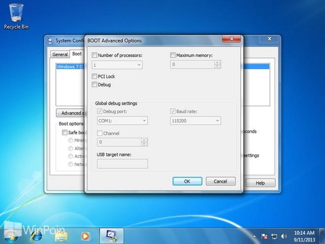 Cara Mengatur Memory RAM Maximum di Windows 7